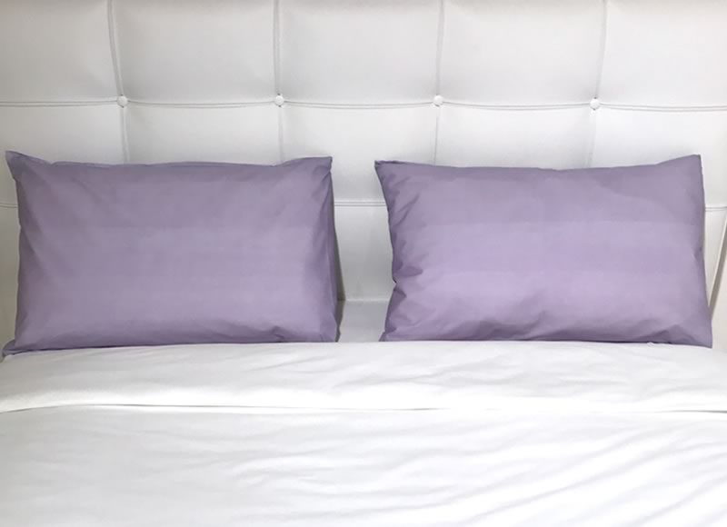Coloured pillowcases and bed runners bio colour pillowcases